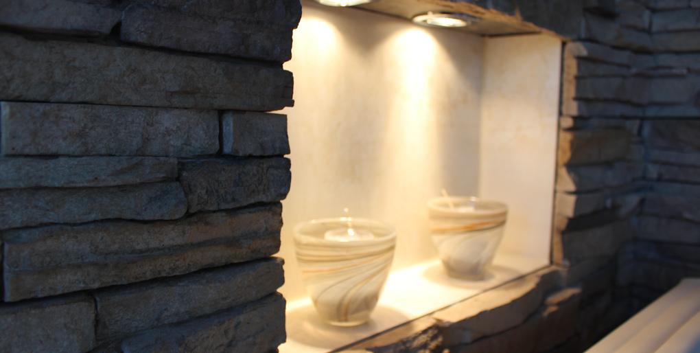 Badezimmerwände und Badezimmerböden planen und gestalten